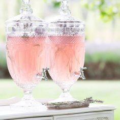 Vintage Style Cut Glass Drinks Dispensers