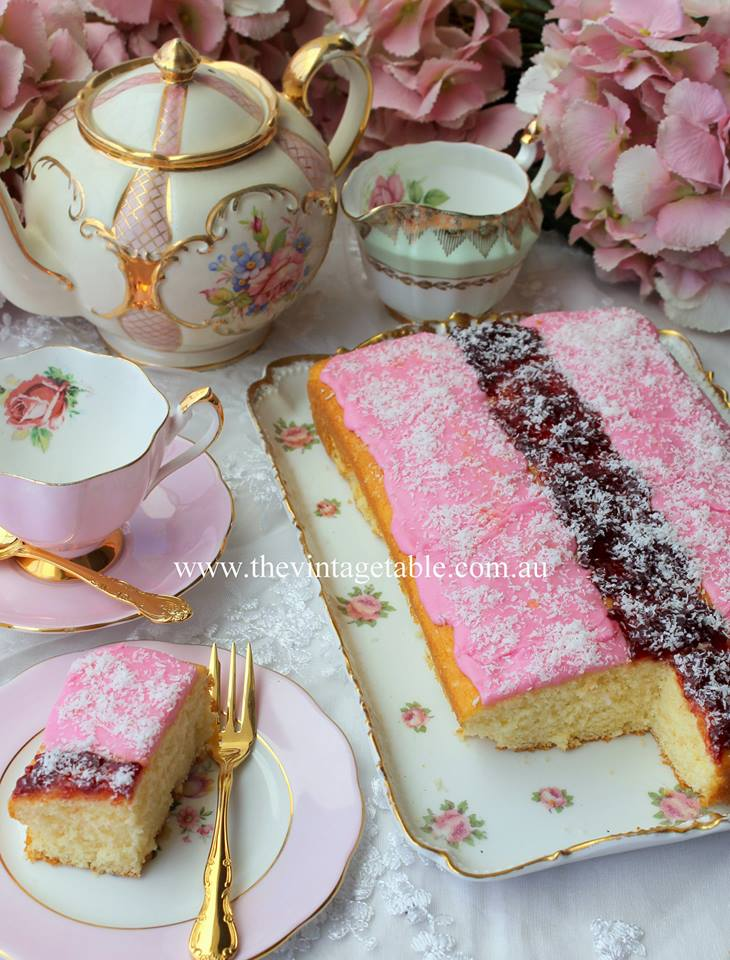 Iced vovo cake | The Vintage Table Perth