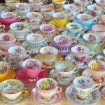 Luxury Vintage Tea Cups | The Vintage Table Perth