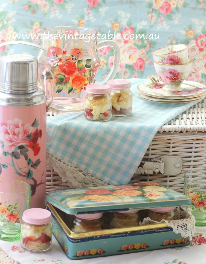 Picnic High Tea Hire - The Vintage Table Perth