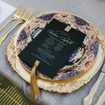 Vintage Dinner Plates & Gold Cutlery | Wedding Inspiration | The Vintage Table Perth