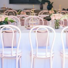 Pink & Gold Bridal Shower | Image & Styling by client