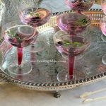 Clear Vintage Hollow Stem Champagne or Cocktail Coupe Saucers | 150 Available