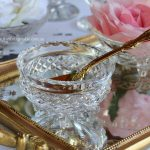 Vintage Cut Crystal Small Three Footed Bowls for Cream, Jam or Flowers | 50 Available