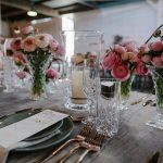 Vintage Crystal Vases | Image Flossy Photographer | Styling & Florals Travelling Jaspers