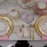 Pink White & Gold Luxury High Tea Party