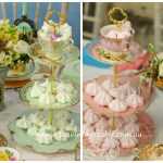 Vintage Three Tier Teacup & Saucer Cake Stands $20 - Qty: 5