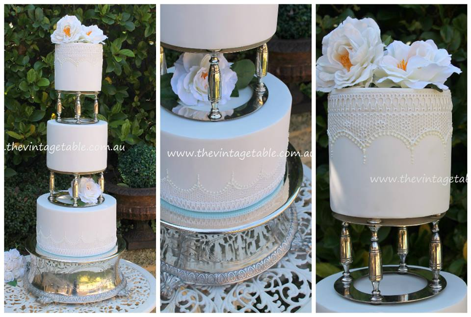 High Tea Cake Stands Hire Perth