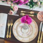 Vintage Gold Cutlery & Dinnerware