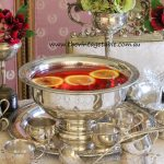 Vintage Silver Plate Punch Bowl With 10 Cups, Ladle & Under Tray ~ Holds 5 Litres - $40