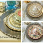 Vintage Style Silver Baroque Charger Plates & Ornate Vintage Silver Cutlery