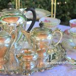 Vintage Silver Tea Set & Tray