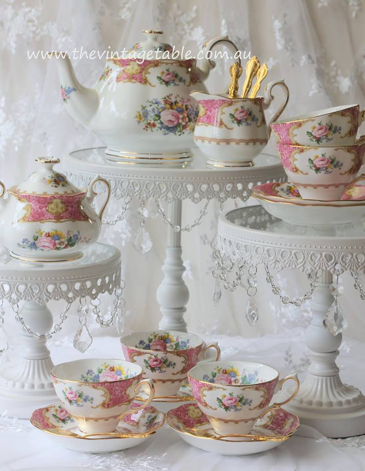 High Tea Cake Stand Hire Perth