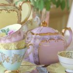 Vintage Fine Bone China Tea Sets