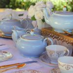 Vintage Luxury Blue High Tea