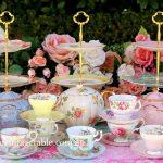 Vintage Three Tier Cake Stands ~ Teapots & Tea Sets