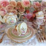 Vintage china dinner & tea ware, silver cutlery & crystal