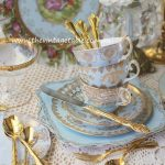 Luxury Vintage 24ct Gold Plated Teaspoons, Cake Forks & Tea Knives ~ 100 Sets Available