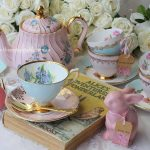 Mix and match for a Mad Hatter high tea.
