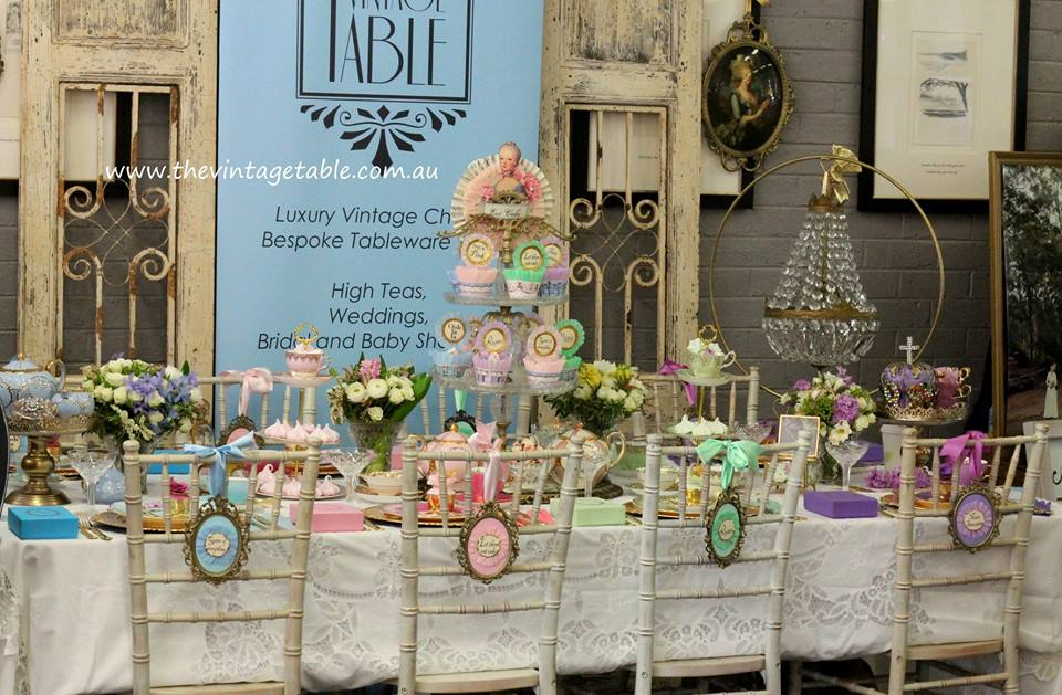 Marie Antoinette High Tea Party - The Vintage Table, Perth