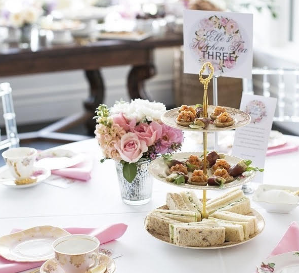 bridal shower high tea vintage table perth the vintage table