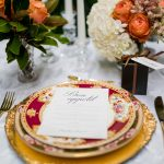 Heirloom Collection with Vintage Gold Cutlery
