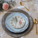 Botanical Collection with Bone China Dessert Plate