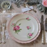 Botanical Collection with Vintage Silver Cutlery