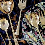 Large Gold Plated Servers, Spoons & Ladles