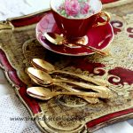 Vintage 24ct Gold Plated Teaspoons | Quantity: 160