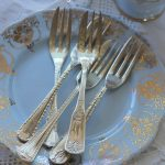 Vintage Silver Plated Cake Forks | Quantity: 400