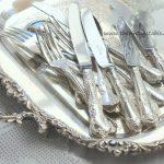 Vintage Silver Cutlery & Tray