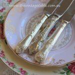 Vintage Silver Tea Knives