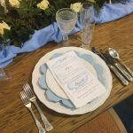 Ornate Vintage Silver Cutlery Place Setting | Image & Styling by White Events