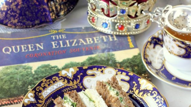 Coronation Chicken Tea Sandwiches Recipe