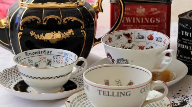 Vintage Fortune Telling Tea Cups ~ 4 Different Sets Available & Instructions