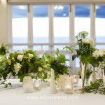 Vintage Crystal, Milk Glass & Silver Vases ~ Image Erica Serena Photography