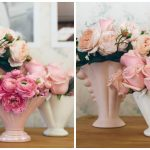"""Vintage 1950s """"Constance Spry"""" style Vases 