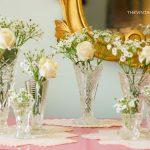 Vintage Crystal Vases