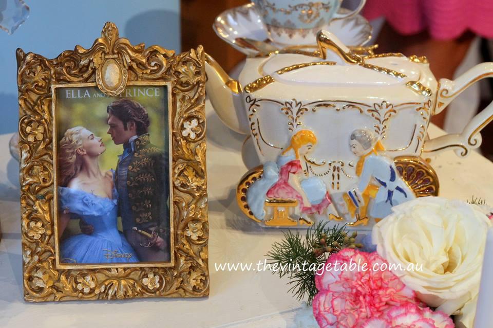 Cinderella High Tea Party - Vintage Table Perth