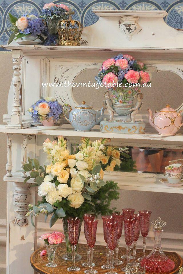 Cinderella High Tea Party - The Vintage Table Perth