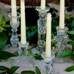Vintage Cut Crystal Candlesticks | 50 Available | $7 each