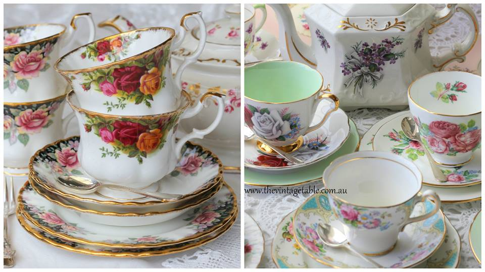Budget High Tea Hire | The Vintage Table Perth