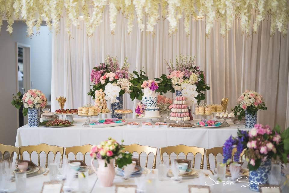 Luxury High Tea Hire | The Vintage Table Perth