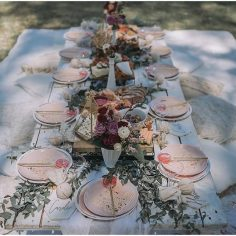 Picnic High Tea |Tableware from The Vintage Table | Styled by Opulenticity | Tables from Lace Petals & Hearts
