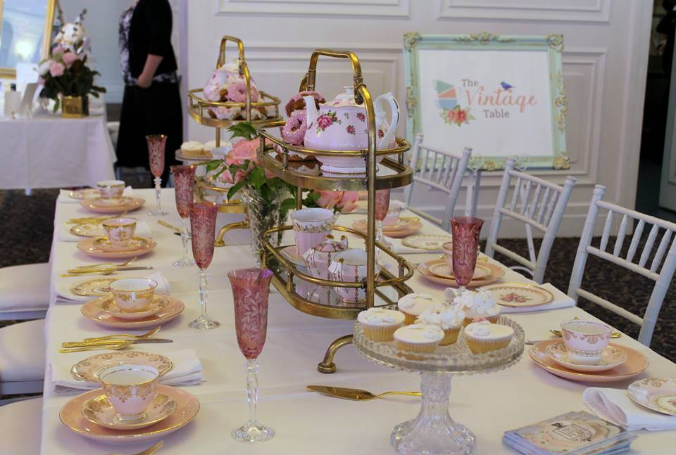 High Tea Hire - The Vintage Table Perth