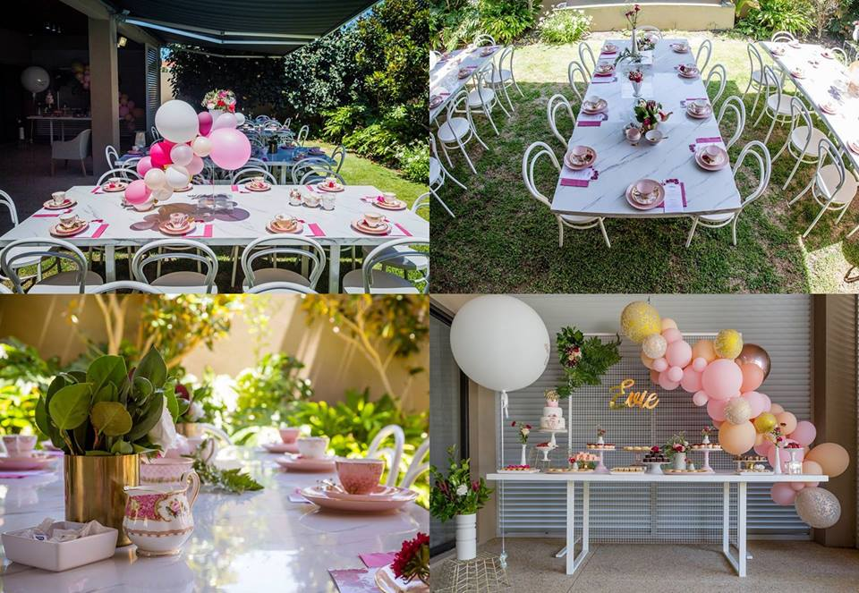 Pink Bridal Shower High Tea - Perth