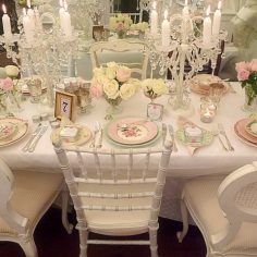 Vintage Dinnerware, cutlery, tea sets and crystal vases