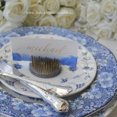 Blue & White Hamptons Chinoiserie Plates